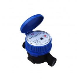 Medidor Chorro Único, transmisión magnética, esfera seca, cuerpo plástico