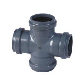 Ramal Cruz PVC Agua Junta Pegar