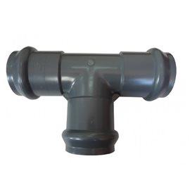 Ramal 90° Inyectado Red PVC Agua J/E